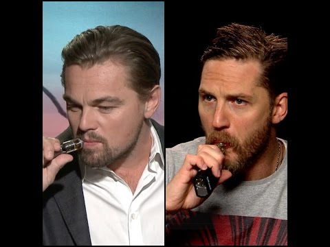 Leonardo DiCaprio v Tom Hardy - vape-off! Who is the hottest VAPOR? - 동영상