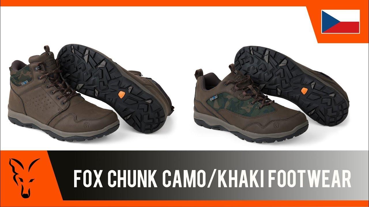 a42b969824 Topánky Fox Chunk Khaki Shoes