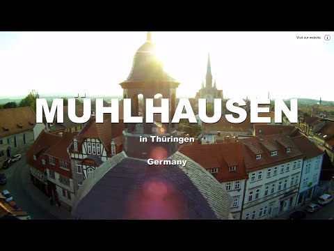 Germany-Mühlhausen-in-Thüringen-Aerial-Trailer
