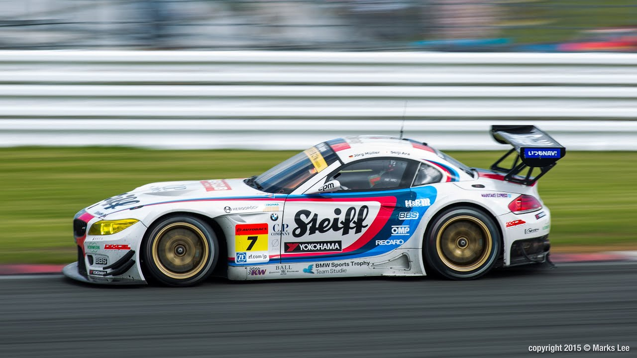 Studie Bmw Z4 2015 Supergt Rd 2 Fuji Youtube