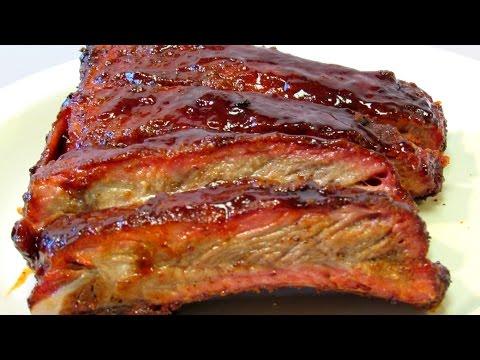 Huli Huli Pork Ribs - Hawaiian BBQ Ribs - Spare Rib Recipe