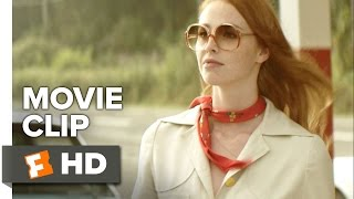 The Lady in the Car with Glasses and a Gun Movie CLIP - Gas Station (2015) - Movie HD
