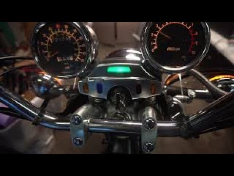 Yamaha Virago Carb Sync On My XV700
