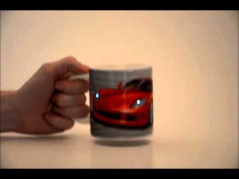 Supercar Musical Mug