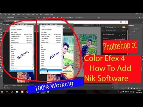 How To Install Nik Software Color Efex Pro 4 + Crack Full Version Free For Photoshop Cc|Tutorial