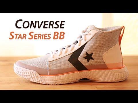 Converse x Tinker Hatfield - Star Series BB (Pure Platinum/Bold Mandarin)