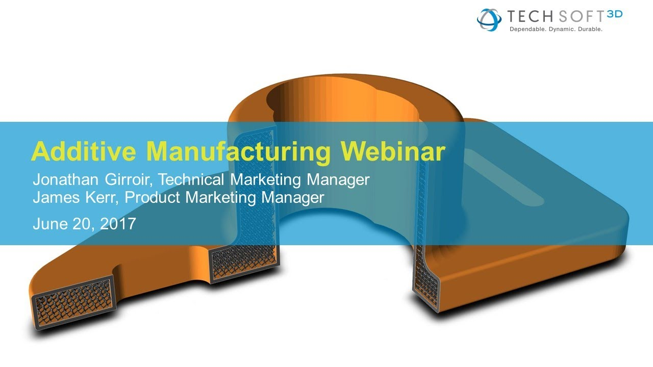 Webinar - SDKs for Additive Manufacturing