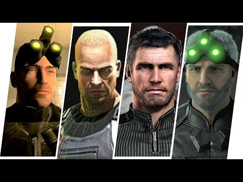 Sam Fisher Evolution In Games & Commercials 2020 (Tom Clancy's Splinter Cell)