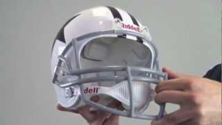 roy williams signed replica throwback helmet jsa