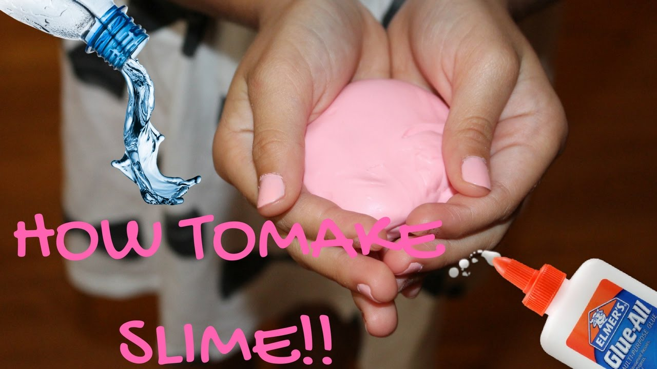 How to make slime easy and fast youtube how to make slime easy and fast ccuart Image collections