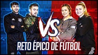 ¡¡¡DUELO LEGENDARIO!!! ¡¡¡CHICOS VS CHICAS!!! - RETOS EPICOS DE FUTBOL EN LA VIDA REAL