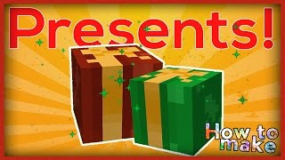 Minecraft: How to make openable Christmas PRESENTS!