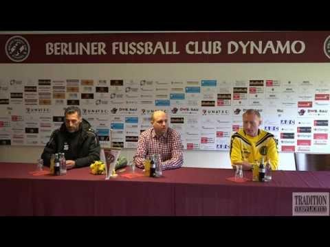 23.Spieltag BFC Dynamo - VFC Plauen Pressekonferenz in Full HD