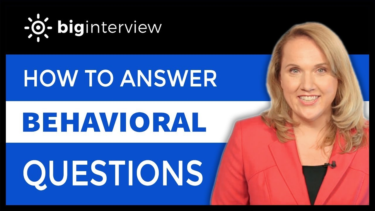 how to answer work ethic behavioral interview questions