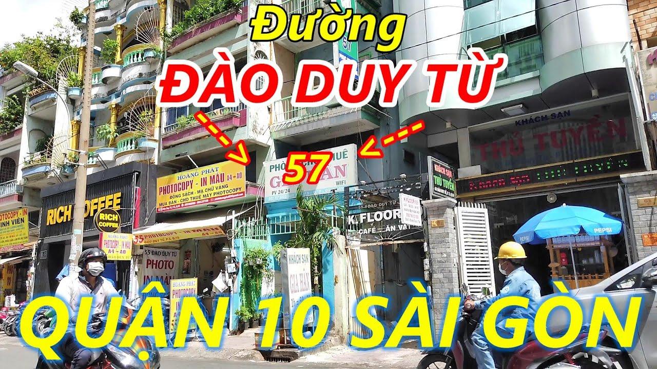 Chợ NHẬT TẢO và Nhà xưa Đường ĐÀO DUY TỪ Quận 10 Sài Gòn (Khách sạn 1 giờ)