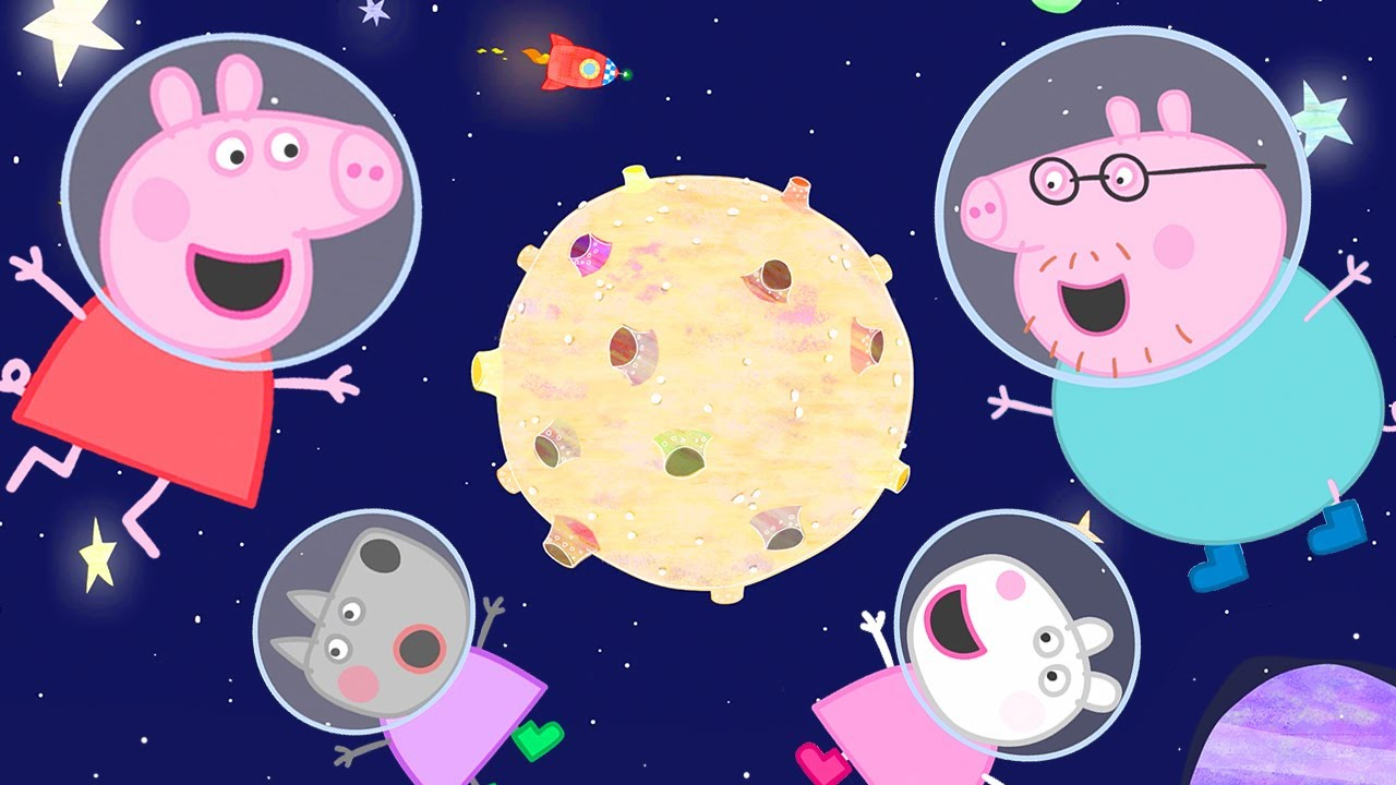 Peppa Pig Official Channel ? Peppa Pig Moon Day Special