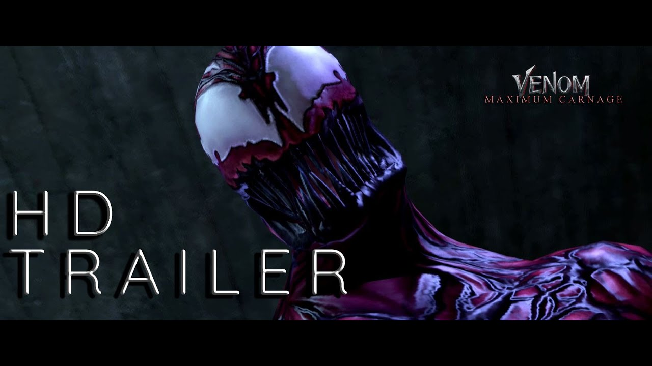 Animated Spider Wallpaper Venom 2 Maximum Carnage Animated Trailer Tom Hardy