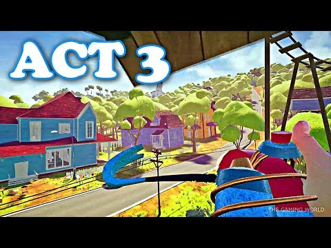 hello-neighbor---act-3-full-walkthrough-|-getting-all-the-keys-&-secret-doors