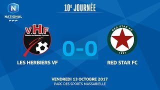Les Herbiers vs Red Star full match