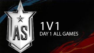 1v1 Day 1 Highlights ALL GAMES All Stars 2019