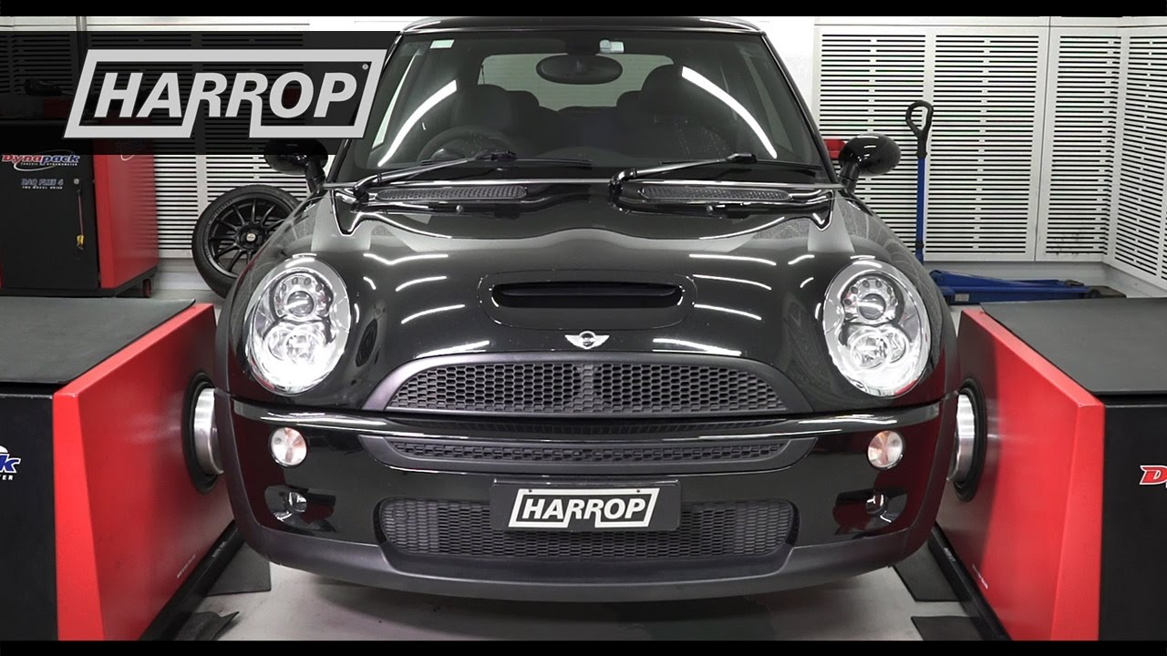 harrop mini r53 cooper s tvs900 supercharger kit technical review youtube. Black Bedroom Furniture Sets. Home Design Ideas