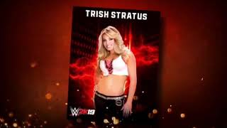 Trish Stratus Makes Her Entrance In WWE 2k19!