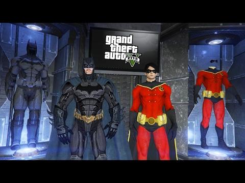 BATMAN & ROBIN!! (GTA 5 Mods)