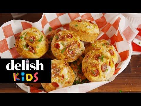 Pizza Puffs | Delish