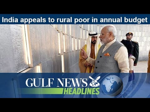India appeals to rural poor in annual budget - GN Headlines
