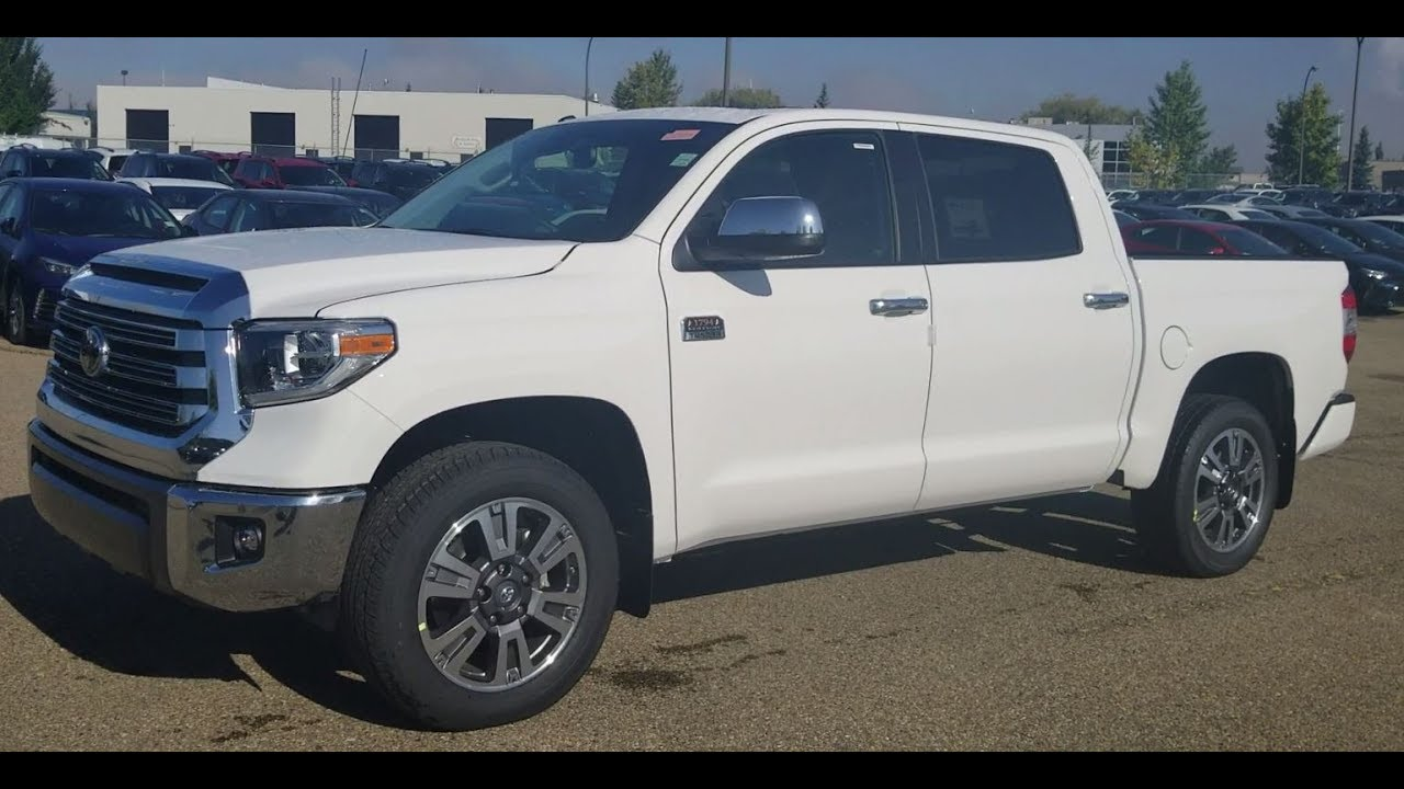 2018 toyota 1794.  2018 2018 toyota tundra 1794 crewmax platinum first review with feature display with toyota w