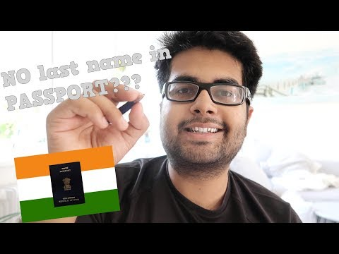 No last name in Passport: Things you should take care of!