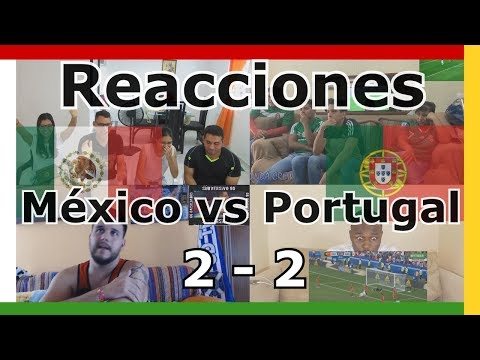 Portugal vs Mexico 2-2 - All Goals & Full Highlights - Confederations Cup Reaction