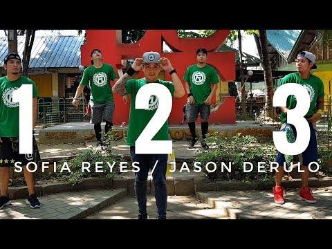 1 2 3 by Sofia Reyes ft Jason Derulo,De La Getto   Zumba   Kramer Pastrana