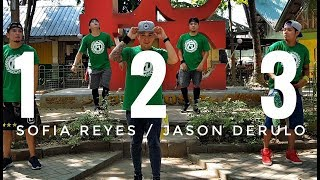1 2 3 by Sofia Reyes ft Jason Derulo,De La Getto | Zumba | Kramer Pastrana