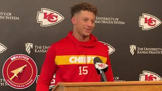 Patrick Mahomes respects Ravens safety Earl Thomas (NFL Week 3 2019)