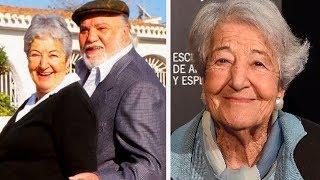 Trágico adiós a Asunción Balaguer a los 94 años