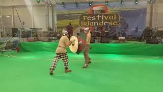 Antichi Popoli: Duello celtico. Festa Irlandese 2017. Video 3 di 3
