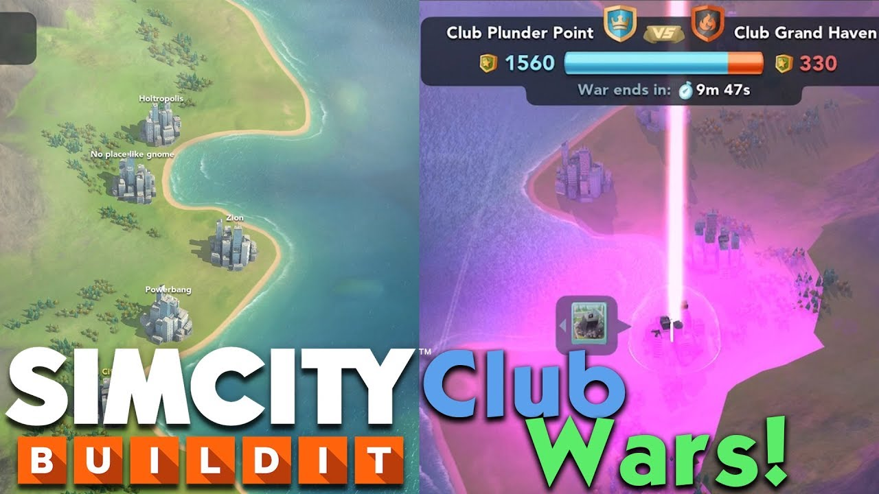 SimCity BuildIt: Club Wars~ In-Depth Overview + Review! | Club Wars Match  Gameplay!