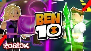 [CRAZY!] BEN 10 VS CHARMCASTER IN ROBLOX! (Ben 10 Arrival Of Aliens)