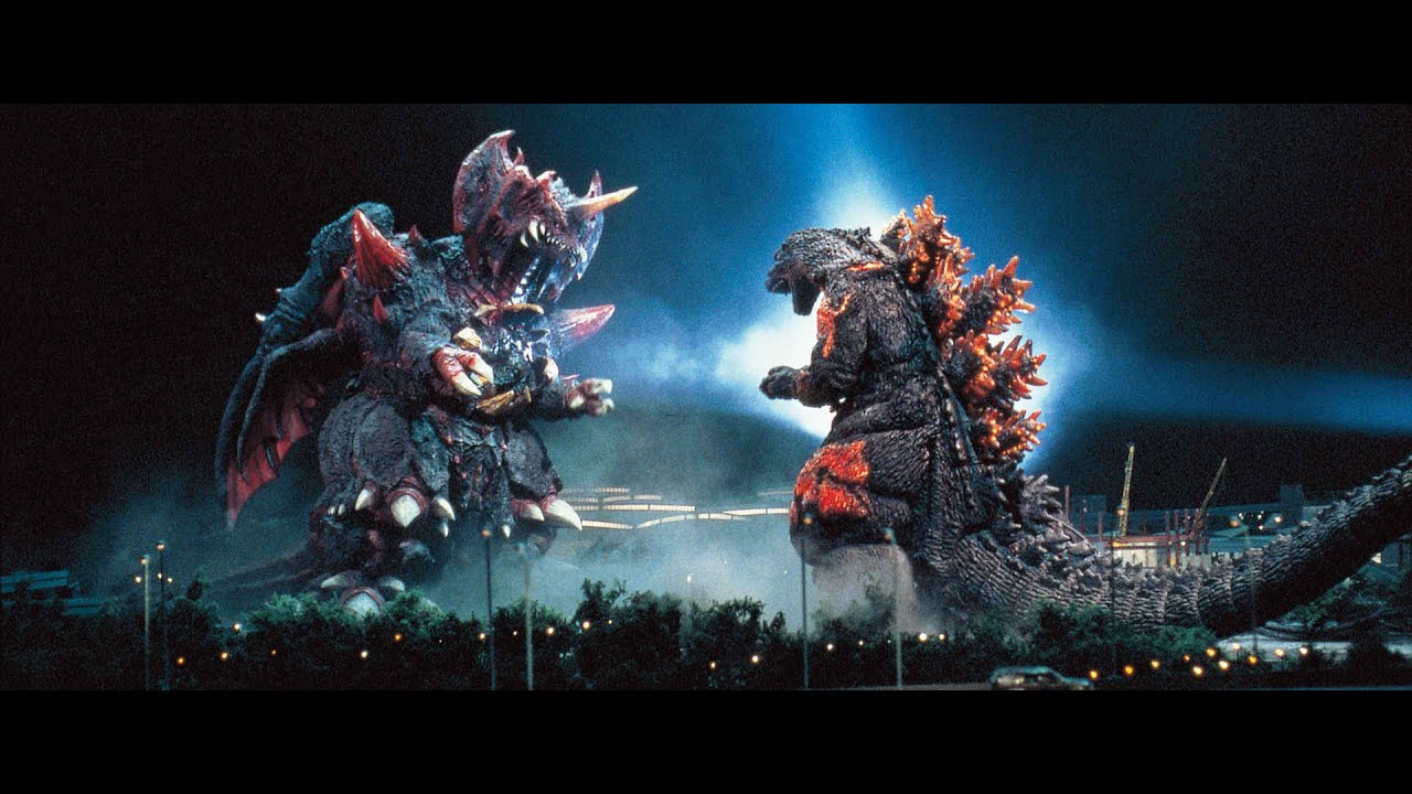 Godzilla Wallpaper Hd 1920x1080 Ps4 ゴジラ Godzilla Vs 戴斯特洛伊亞 Vs 紅蓮哥吉拉 デストロイア Vs バーニングゴジラ