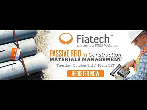 The Value of Passive RFID in Construction Materials Management