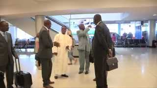 Visite Du President Seini Oumarou aux Etats Unis d