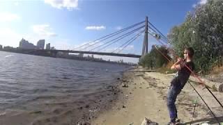 Рибалка на фідер 2019 Київ Дніпро.(перша рибалка за 3 роки)))