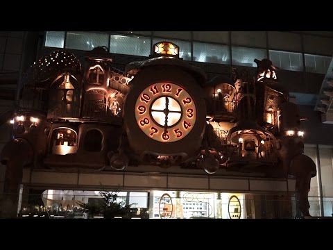 The Giant Ghibli Clock - Nittele Big Clock