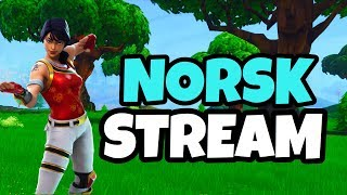 NORSK FORTNITE STREAM // SOLO+ARENA // Use Code IdaMarieYT❤️