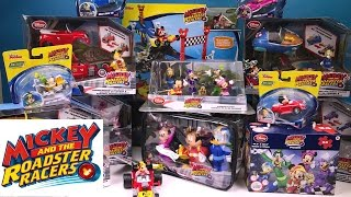 Mickey and the Roadster Racers Toy Mania Haul from NEW Disney Jr Show