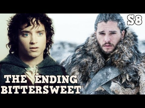 How does Game of Thrones End | Lord of The Rings Vs Game of Thrones  | The Bittersweet Ending