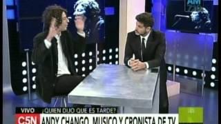 C5N - QUIEN DIJO QUE ES TARDE: ENTREVISTA A ANDY CHANGO (PARTE 1)