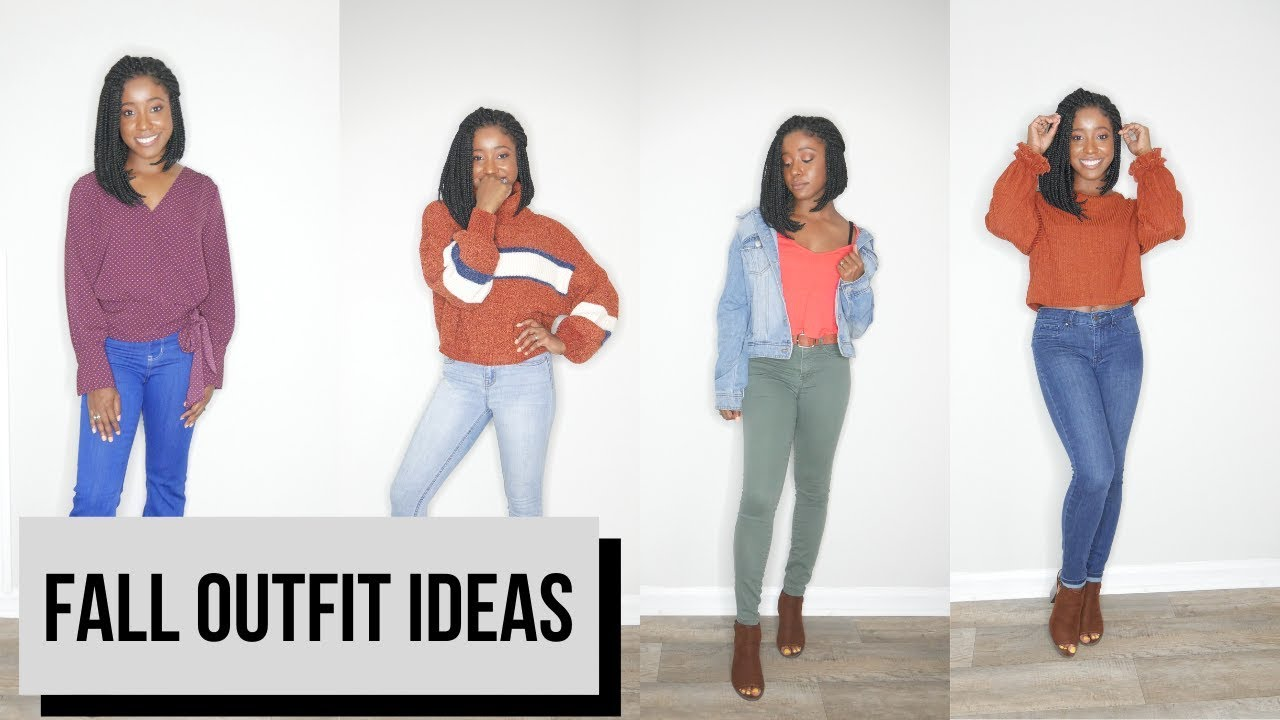[VIDEO] - Fall Lookbook 2019 | 7 Fall Outfit Ideas | Autumn Fashion | ChicWithMique 2