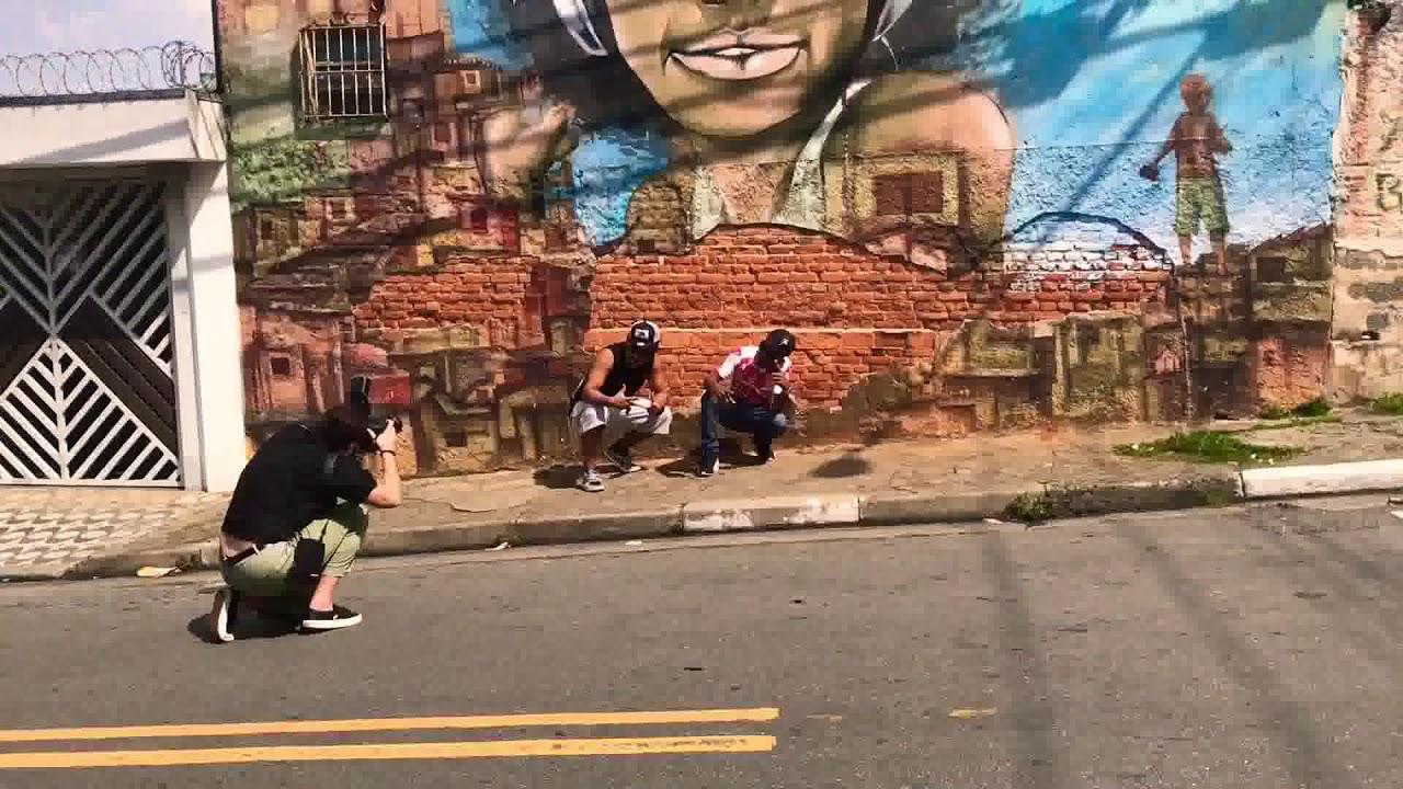 shooting graffiteros Sao Paulo, Brazil